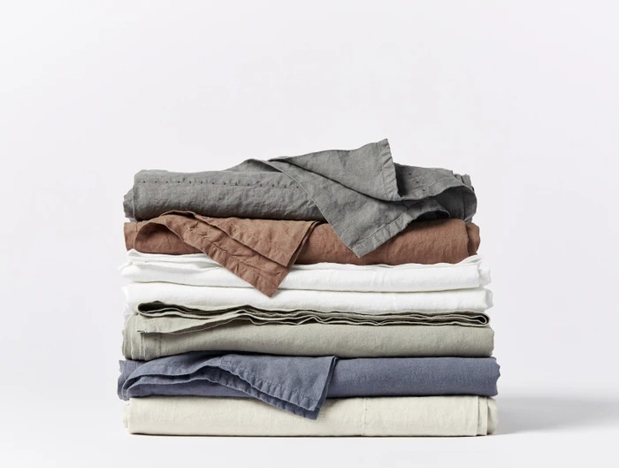 Organic Relaxed Linen Sheets by Coyuchi