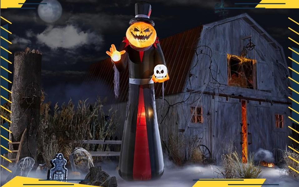 large Halloween decorations
