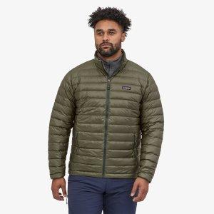 Patagonia down sweater jacket, eco-friendly plastics