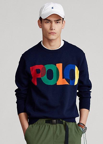 Polo-Ralph-Lauren-Cotton-Logo-Sweater
