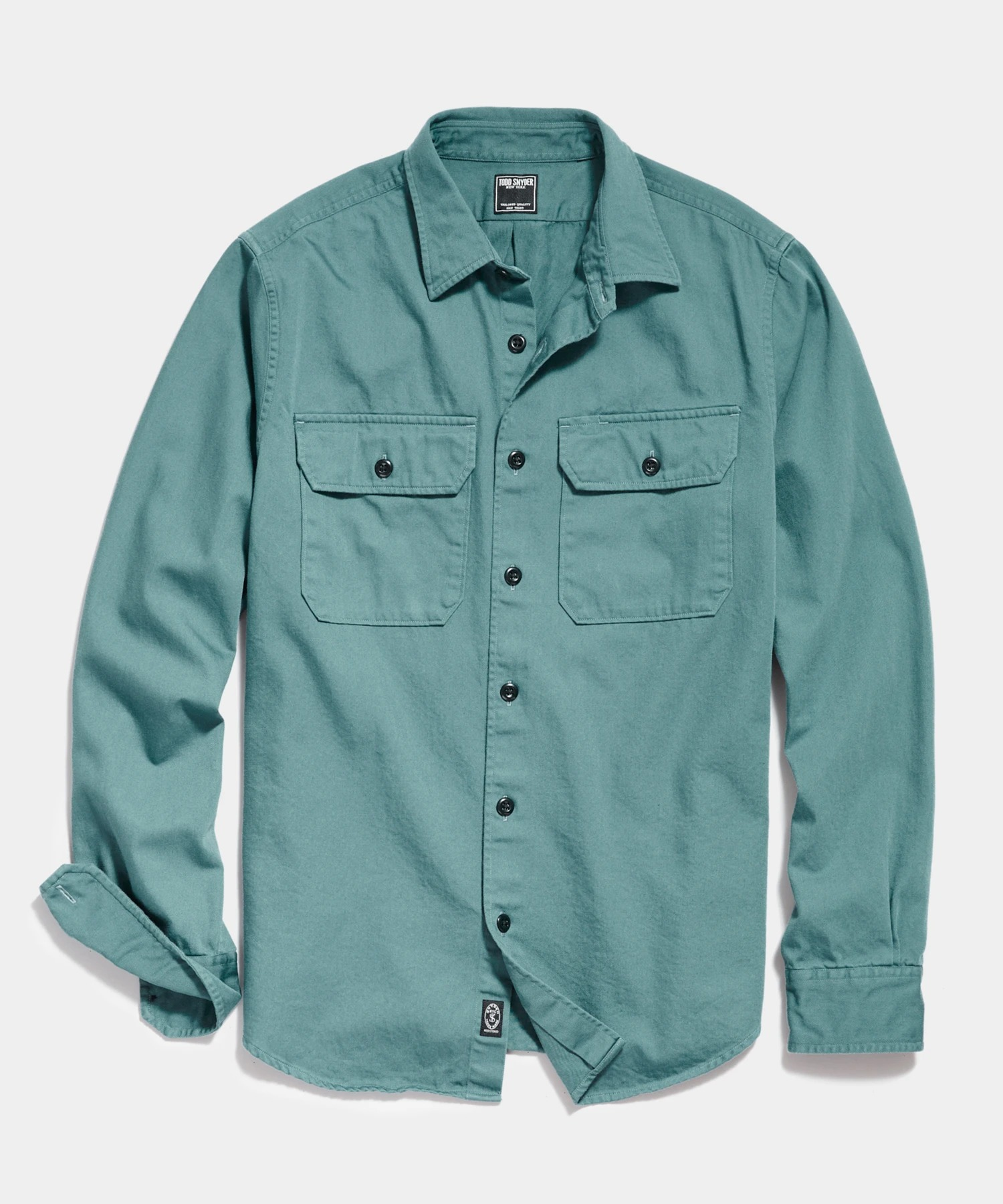 Todd Snyder Two Pocket Utility Long Sleeve Shirt
