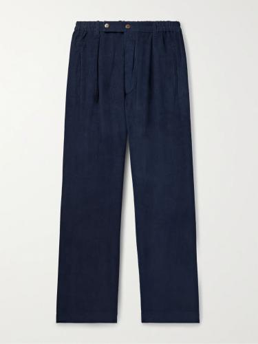 SMR Days Bondi Pleated Cotton-Corduroy Pants