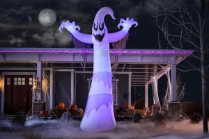 12 ft. Lightshow ShortCircuit halloween inflatable