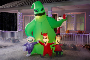 large Halloween decorations- Oogie Boogie airblown Halloween inflatable