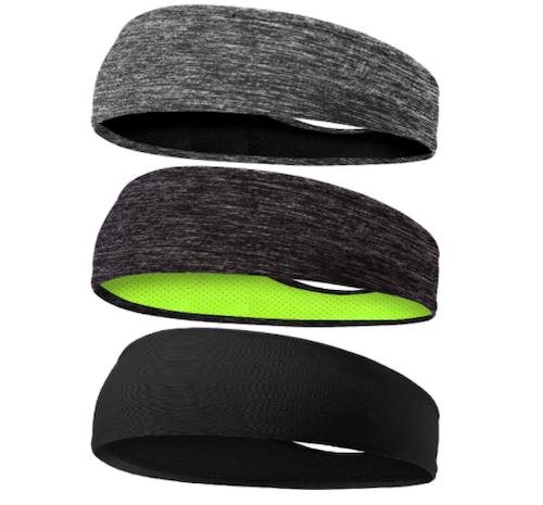 Braylin Men's Cooling Headbands, 3-Pack