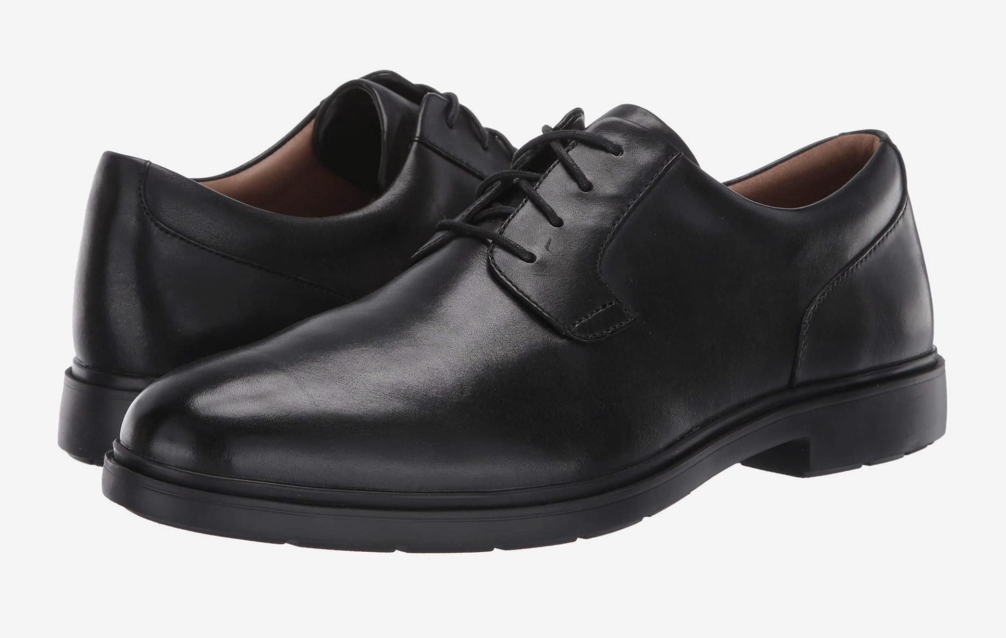 Clarks Un Tailor Tie, most comfortable dress shoes