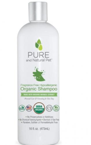 Pure and Natural Pet Shampoo