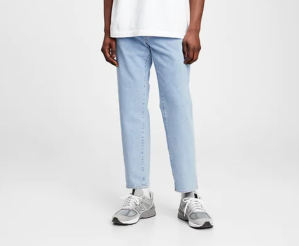 GAP Cropped Straight Jeans with GapFlex, best dad jeans