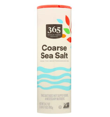 365 Coarse Sea Salt