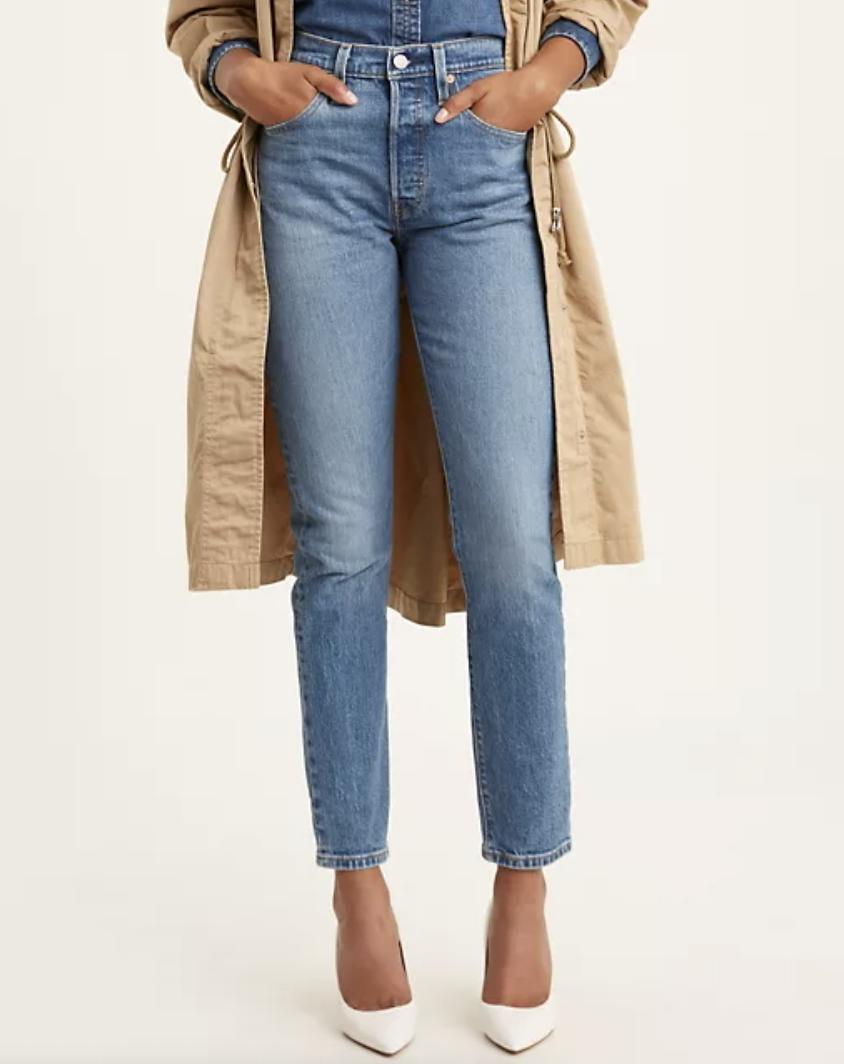 Levi's 501 Stretch Skinny Women's Jeans