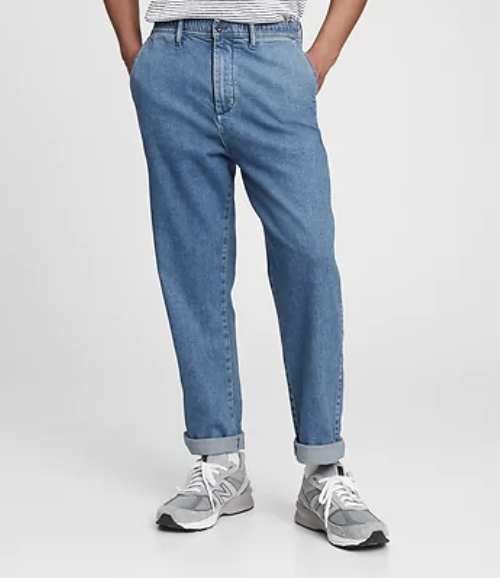 Pull-On Jeans with Washwell