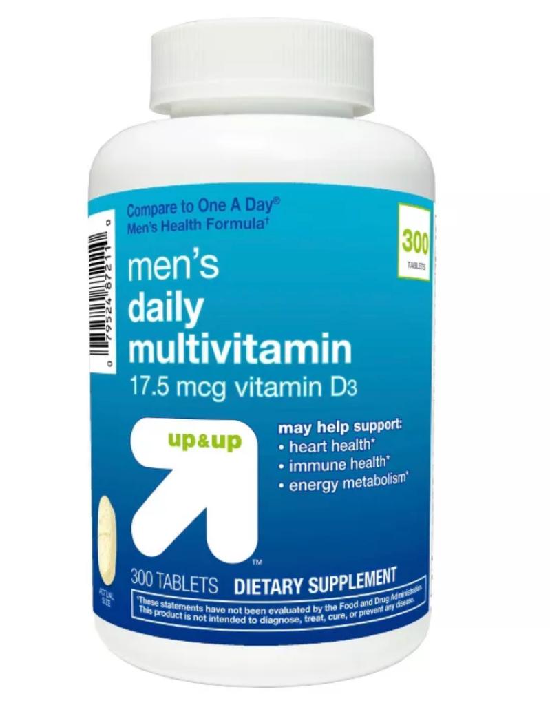 up & up men's daily multivitamin