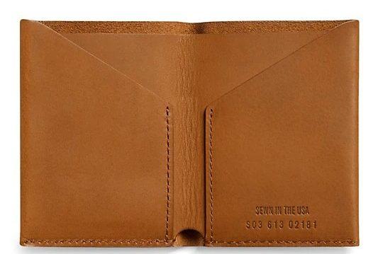 Shinola Leather utility waller
