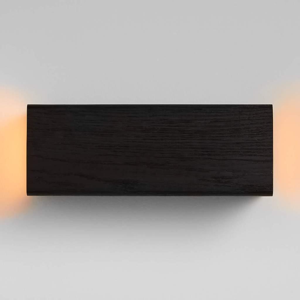 Shinola Utility Black Wood Wall Sconce