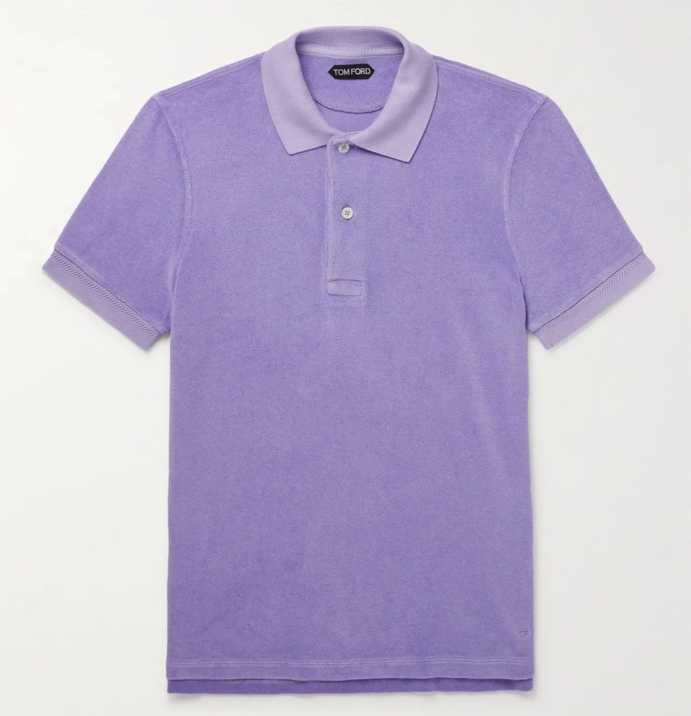TOM Ford Slim Fit Terry Polo