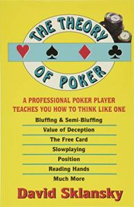 best poker books the theory of poker