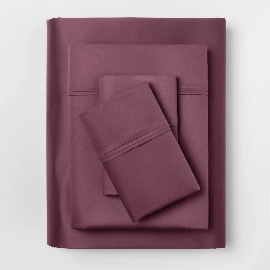 Threshold 400 Thread Count Solid Performance Sheet Set