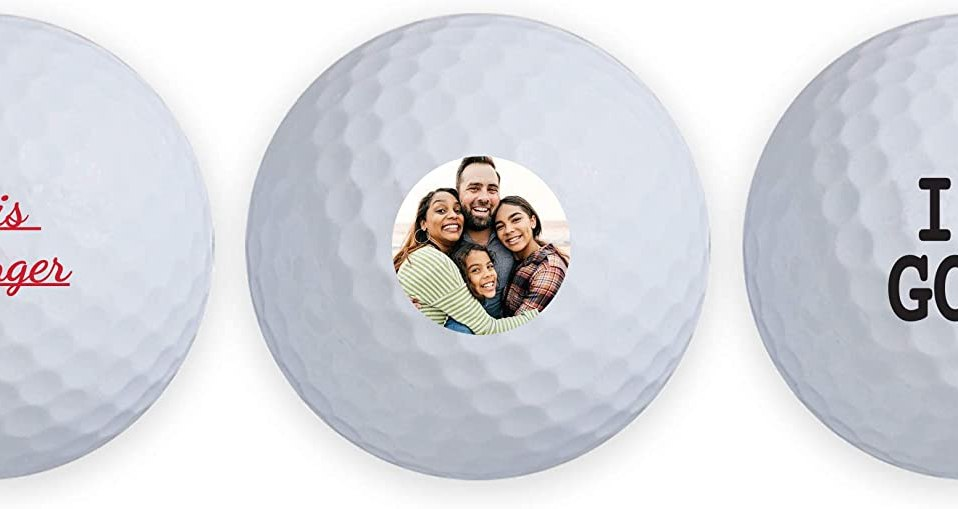 Titleist Pro V1 personalized golf balls