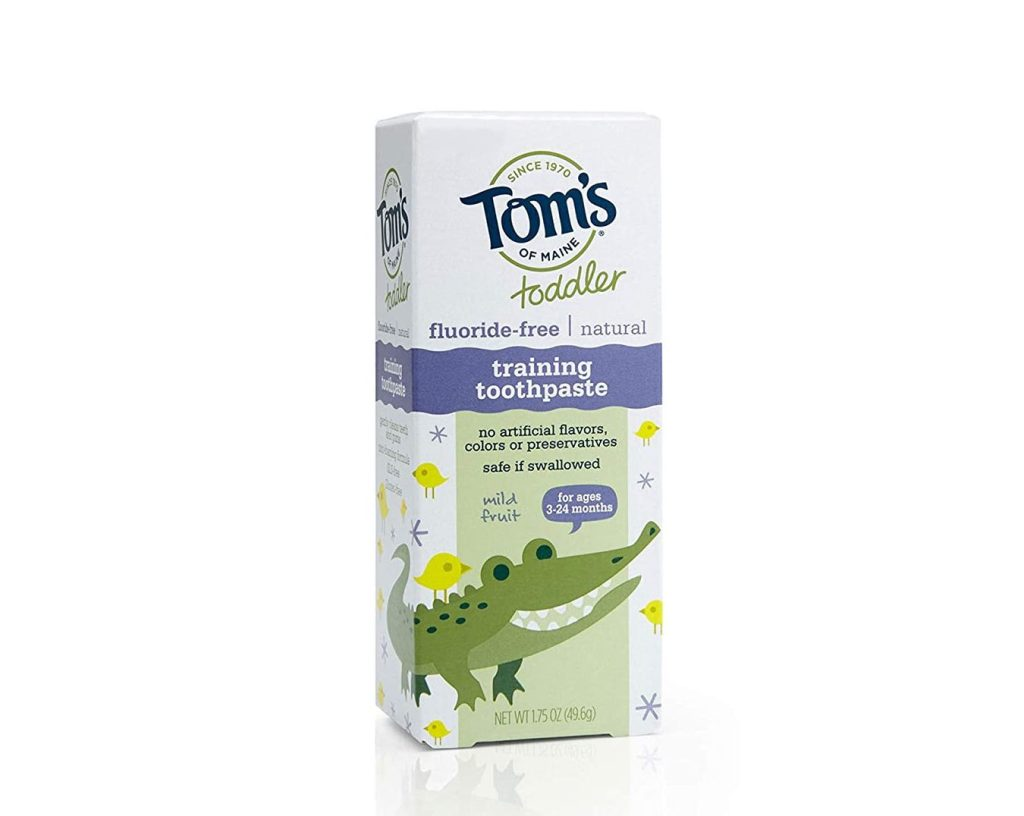 Tom's of Maine Fluoride-Free Toddler Training Toothpaste