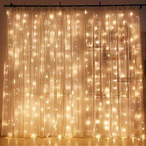christmas window lights twinkle star