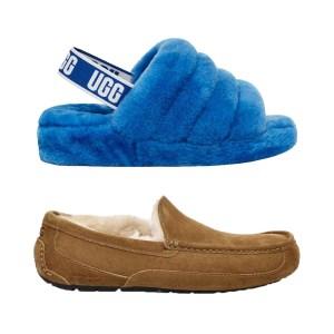 UGG men's slippers and UGG Women's Fluff Yeah Slide Slipper, best Christmas gifts