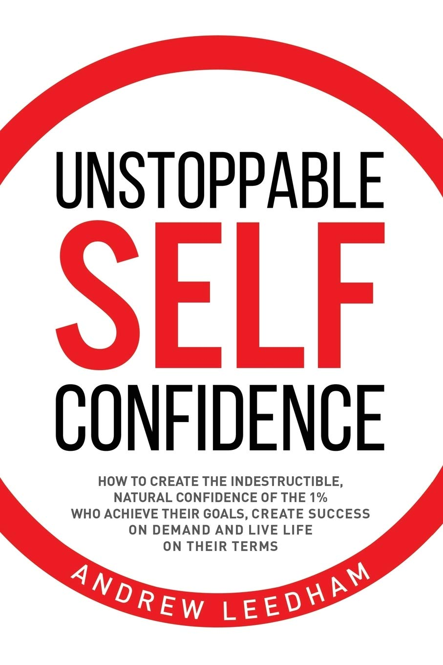 Unstoppable Self Confidence book cover; best books on confidence