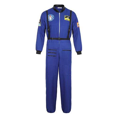 Kranchungel Men's Astronaut Costume; funny couple's halloween costumes / funny couple's costume ideas