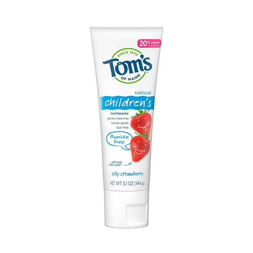 Tom's of Maine Natural Children's Fluoride-Free Toothpaste