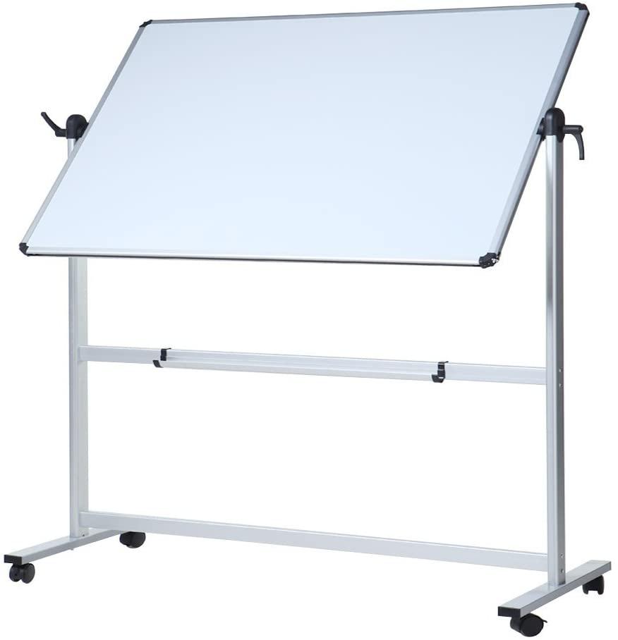VIZ-PRO Double-Sided Magnetic Mobile Whiteboard