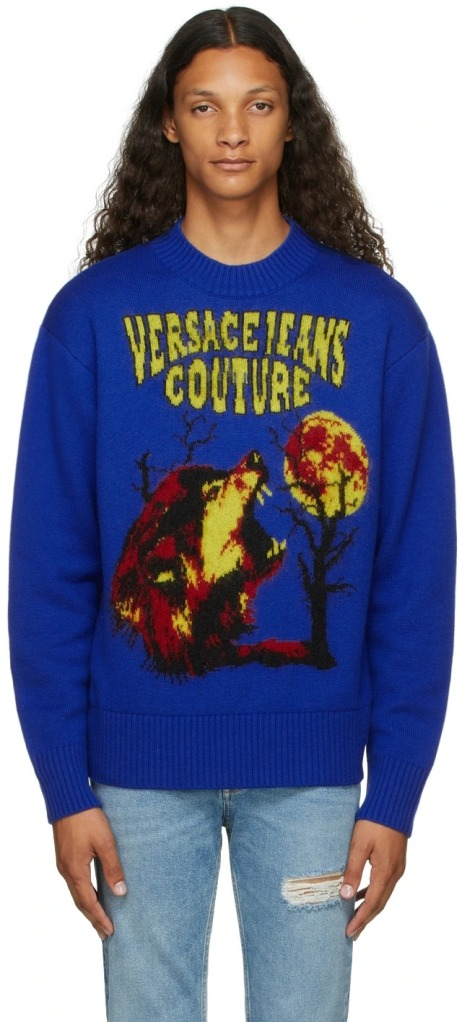 Versace-Jeans-Couture-Navy-Logo-Motif-Sweater