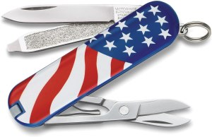 best swiss army knife victorinox classic sd flag