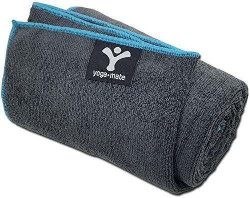 Yoga Mate Soft, Sweat Absorbent, Non-Slip Bikram Yoga Mat Towel