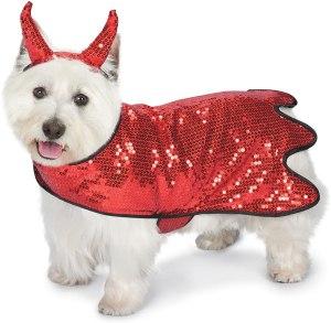 zack zoey sequin devil dog costume