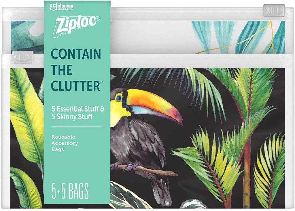 Ziploc Reusable Accessory Bag