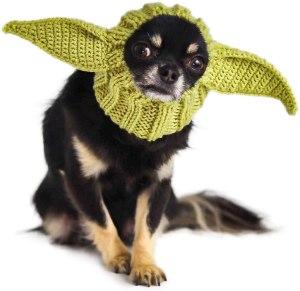 zoo snoods baby alien dog costume