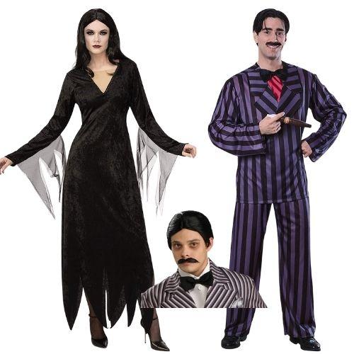 addams family halloween costume