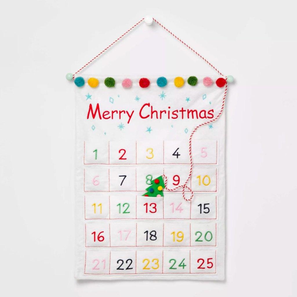 Wondershop Hanging Advent Calendar