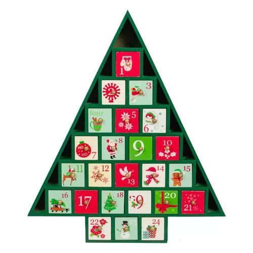 christmas tree advent calendar for 2021