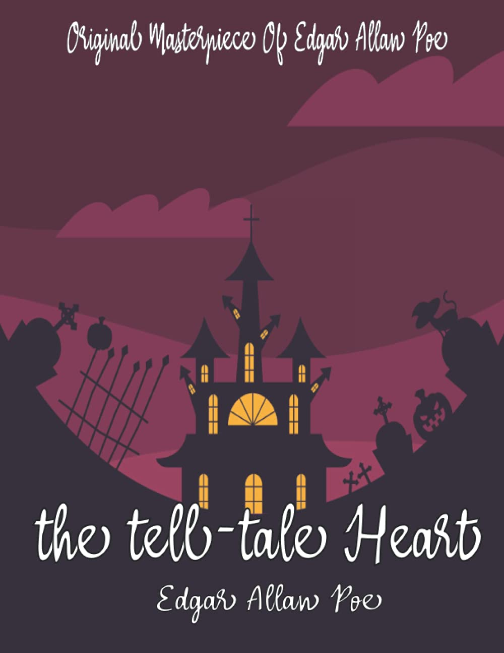 The Tell-Tale Heart book cover
