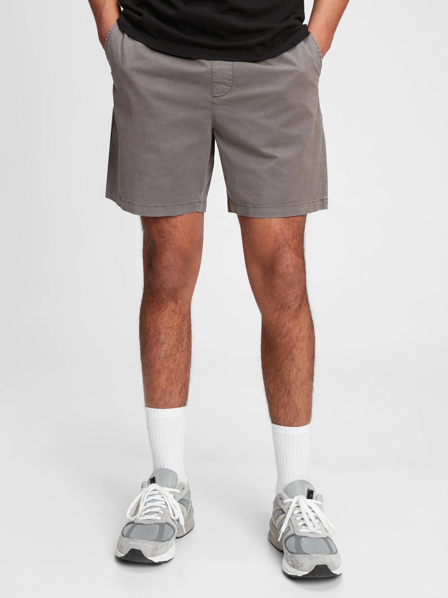 "7"" Easy Shorts With E-Waist"