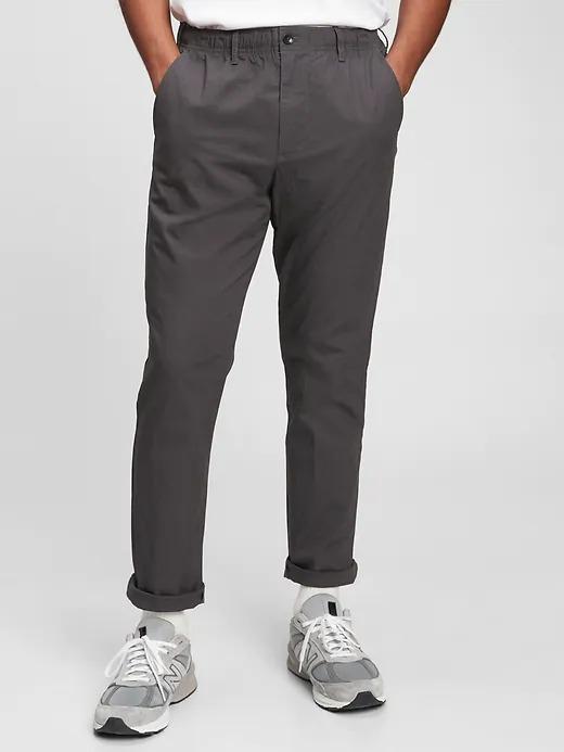 GapFlex Slim Pull-On Easy Pants With E-Waist