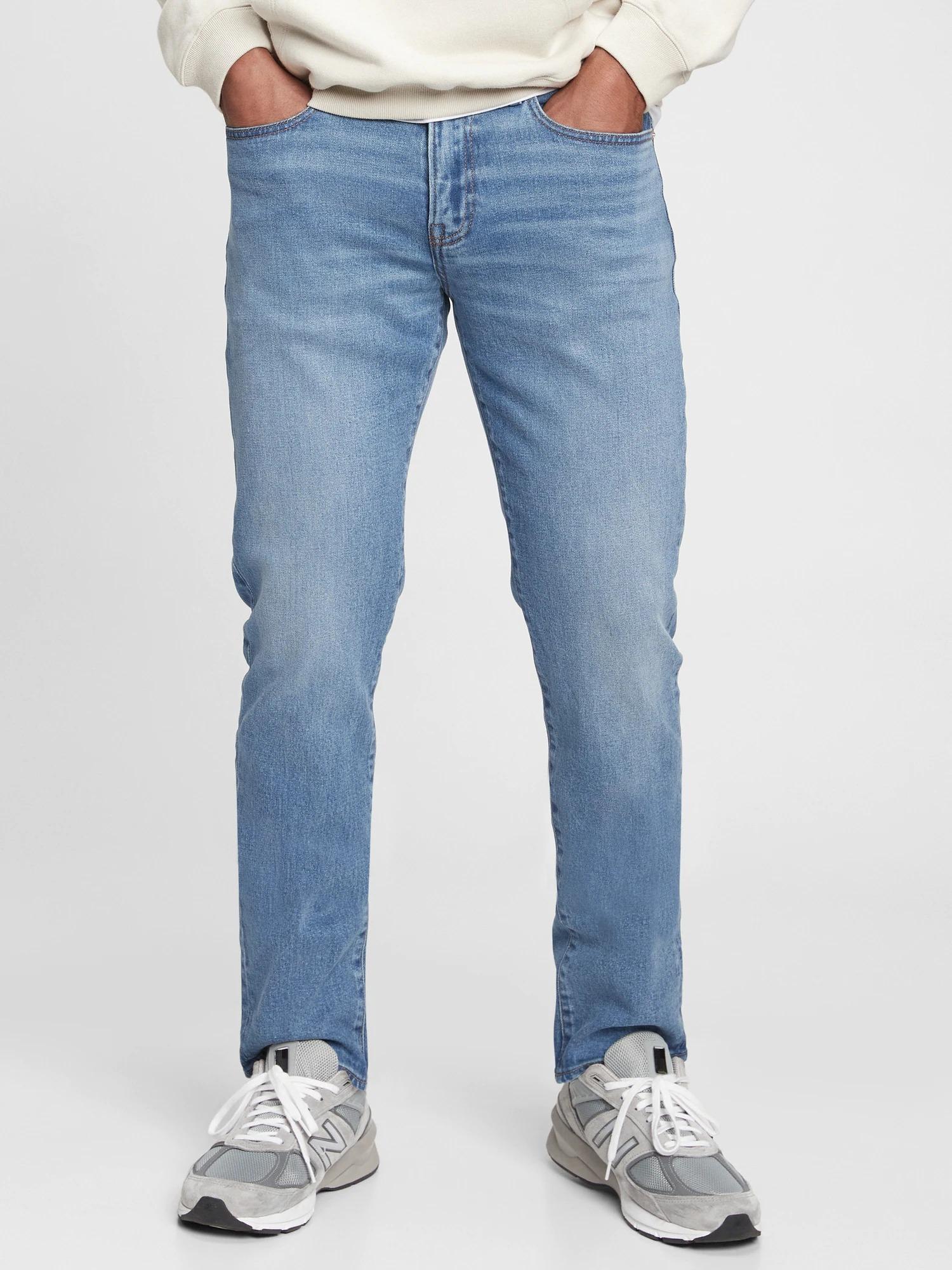 Soft Flex Slim Jeans with Washwell™