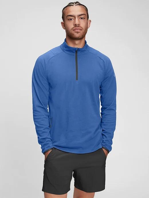 Gapfit Half-Zip Train Sweatshirt