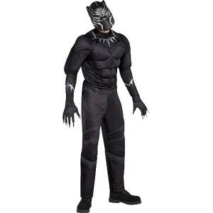 adult Black Panther costume, Marvel Halloween costumes