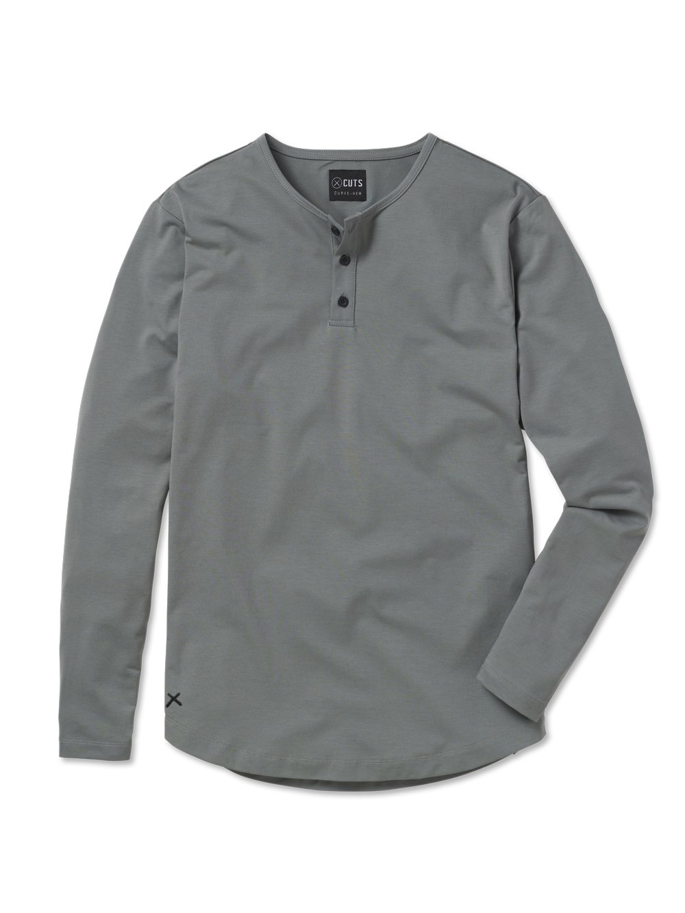 cuts clothing long-sleeve henley t-shirts