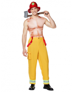 hunky firefighter costume, best places to buy halloween costumes online