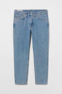 H&M Regular Tapered Crop Jeans