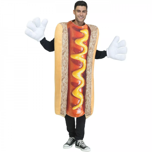 hot dog costume, best places to buy halloween costumes online
