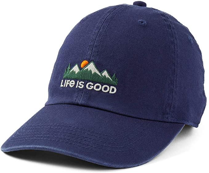 Life Is Good dad hat