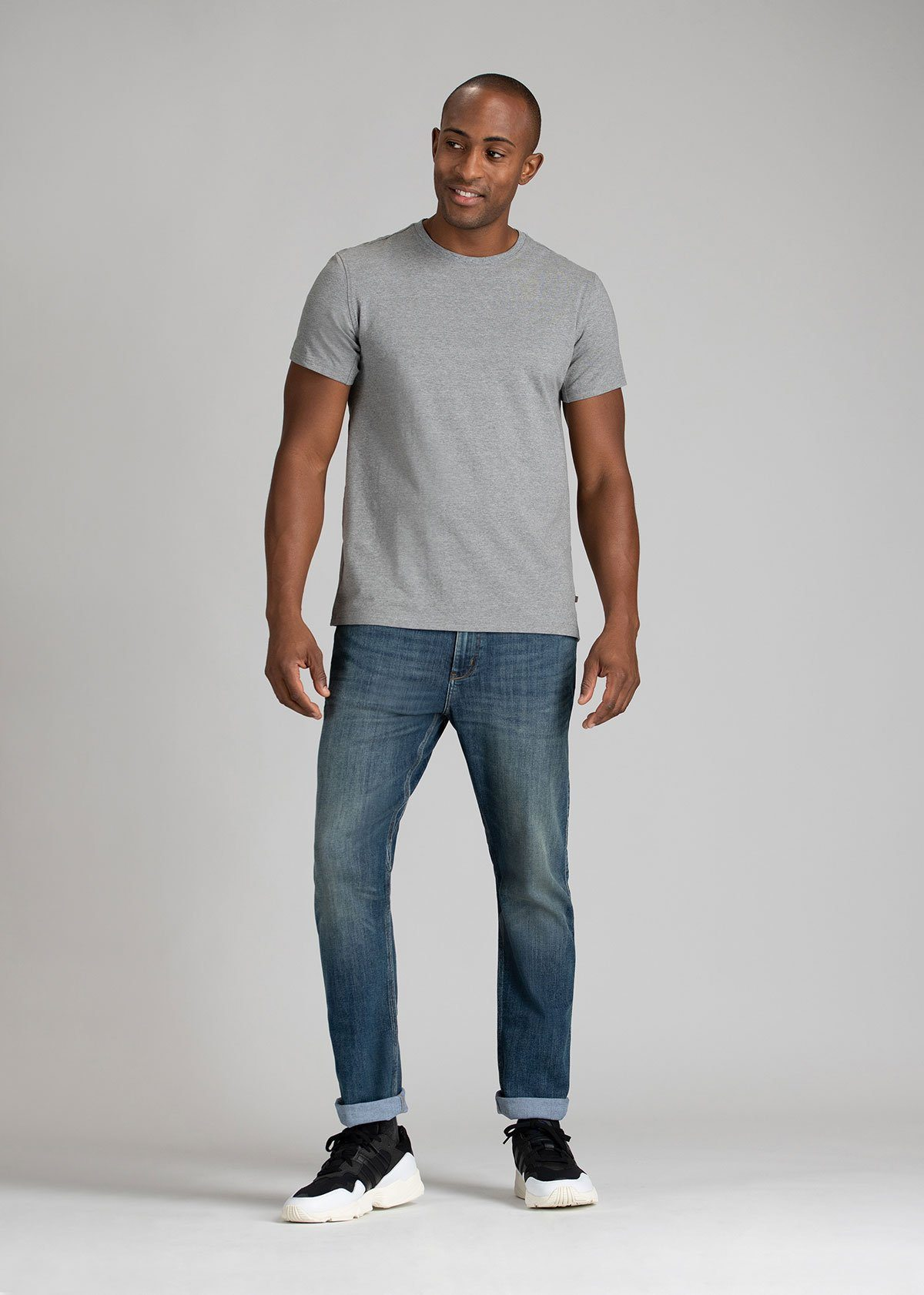 Men's Relaxed Fit Stretch Jeans